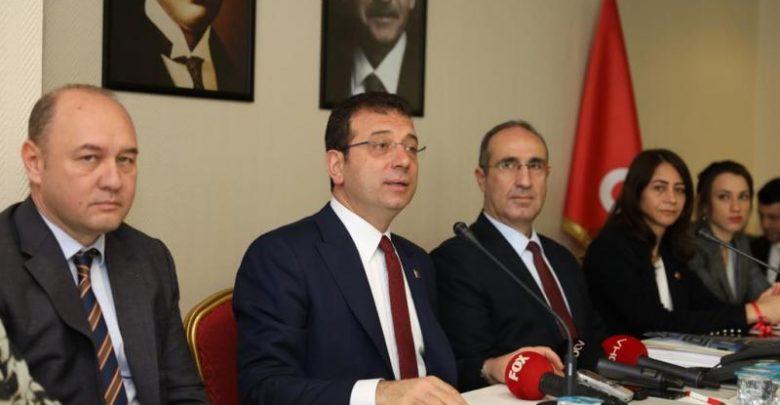 """İmamoğlu'ndan """"Kanal İstanbul"""" yanıtı"""