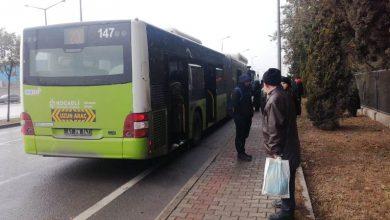 Büyükşehir otobüsünde gaz kaçağı paniği