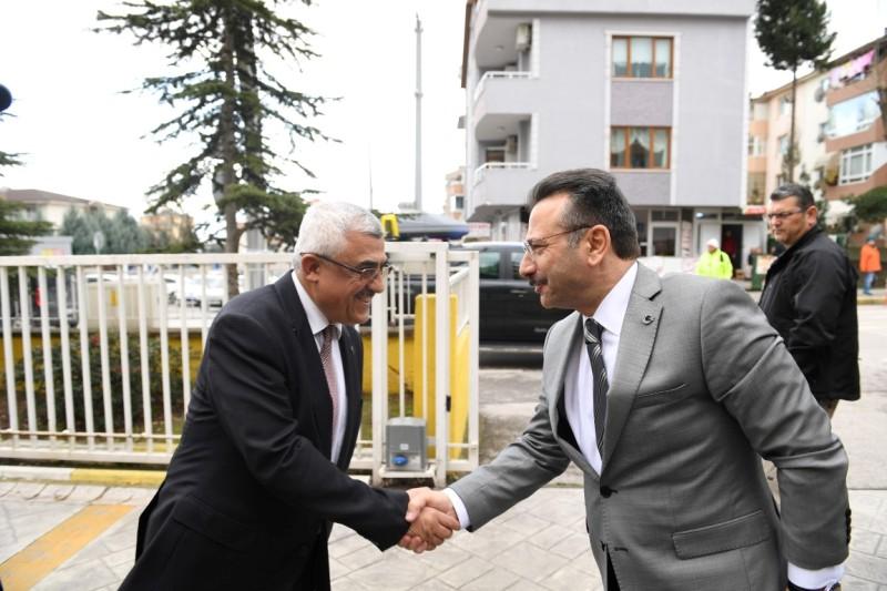 Aksoy'dan Aksak'a ziyaret