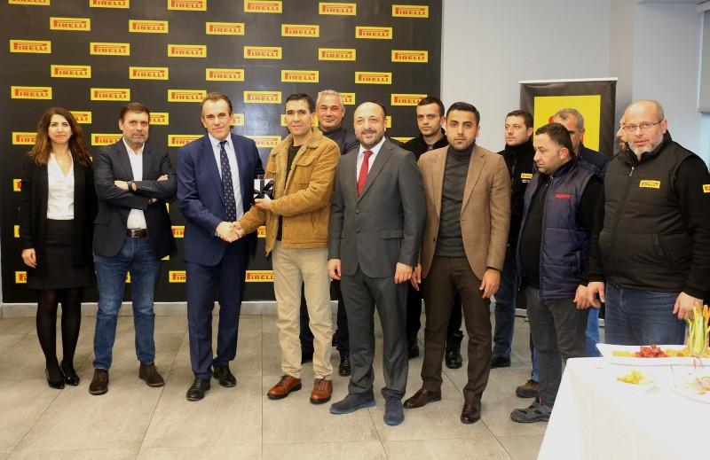 Pirelli Türkiye'de emektar çalışanlar için anlamlı tören