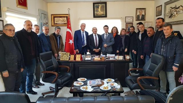 CHP Başiskele'den Özkar'a ziyaret