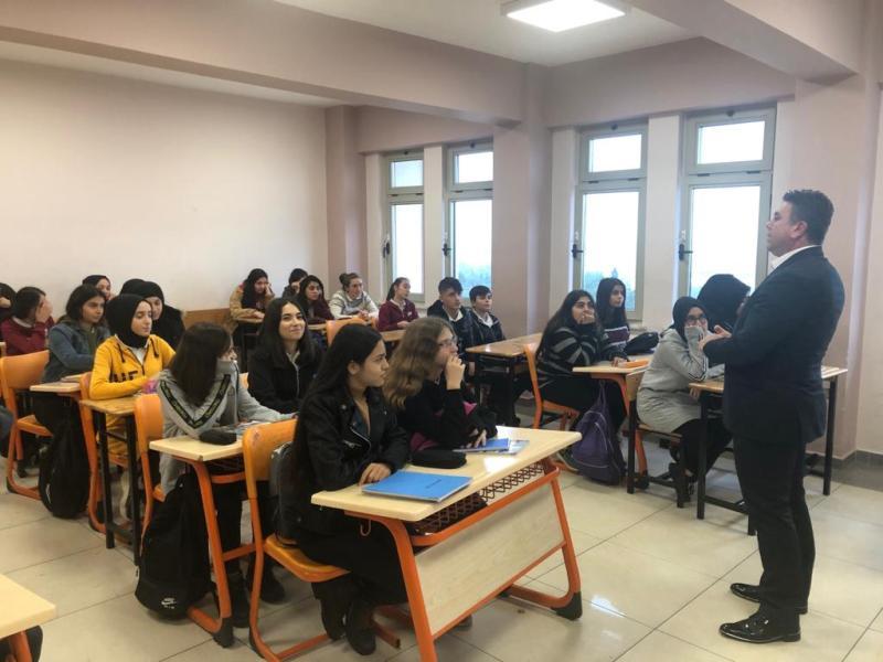Öğrencilere atık eğitimi