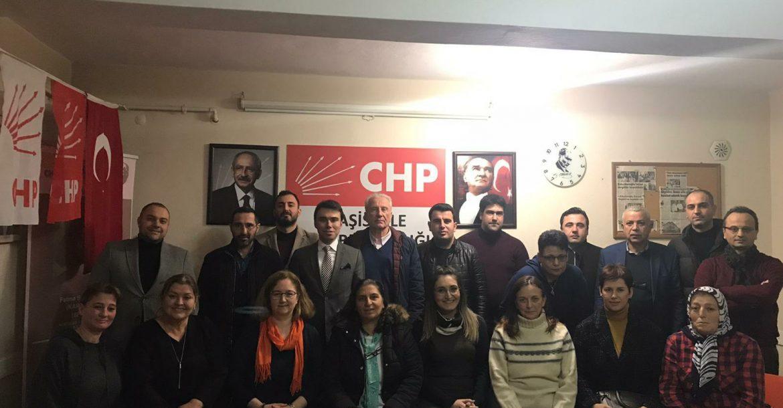 CHP Başiskele'de görev dağılımı
