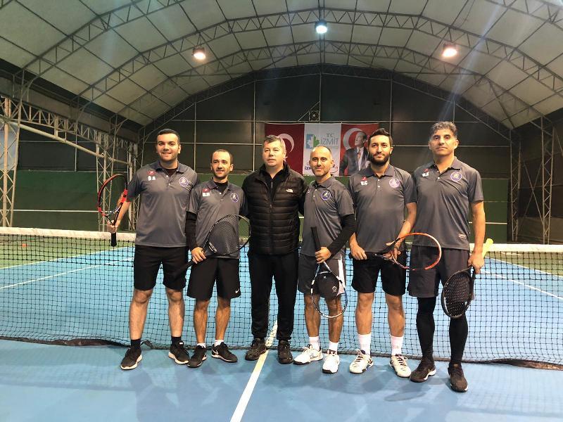 İzmit Tenis Akademisi'nde CUP 2020 heyecanı