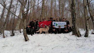 Servetiye'de kış kampı