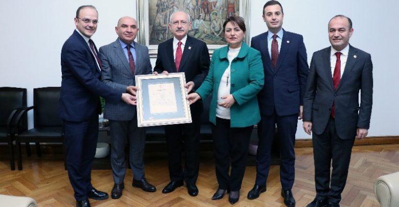 CHP'li vekillerin raporu Kılıçdaroğlu'na iletildi