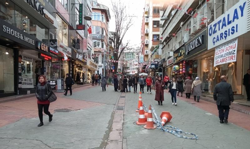 İzmit sokakları boşaldı