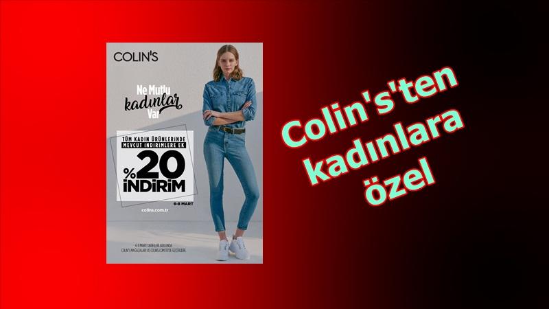 COLIN'S'ten Kadınlar Günü'nde yüzde 20 indirim