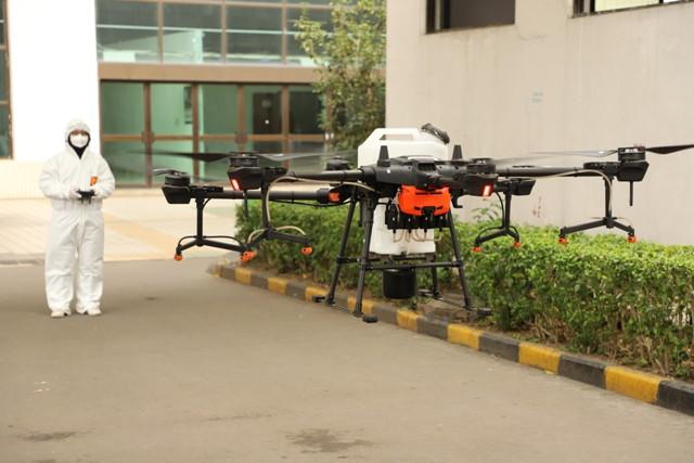 Dronlarla covıd-19 mücadelesinin 4 yolu