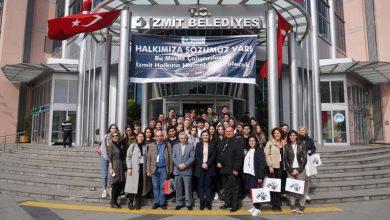 Erasmus'la gelen öğrencilerden Hürriyet'e ziyaret