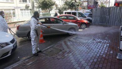Devlet Hastanesi çevresi dezenfekte edildi