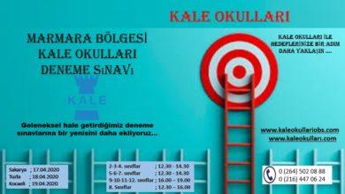 Kale Okulları'ndan Marmara bölgesine online deneme sınavı
