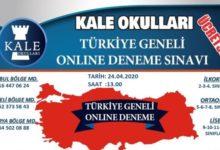 Kale Okulları'ndan online sınav