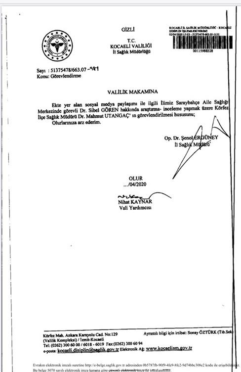Ömer Çeker'den soruşturmaya eleştiri
