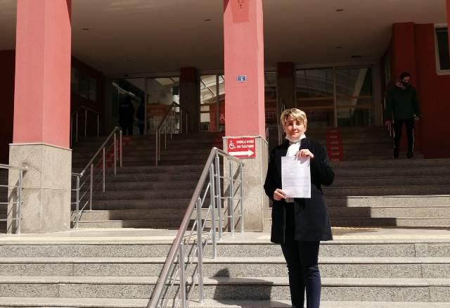 Pelin Coştur Filiz'den suç duyurusu