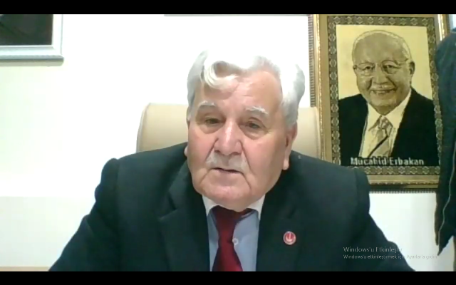 Erbakan, Yeniden Refah Kocaeli il yönetimine hitap etti