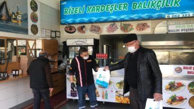 İzmit Belediyesi Balıkhan esnafını unutmadı