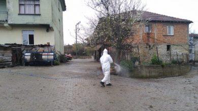 Köylerde Covid-19 temizliği yapıldı