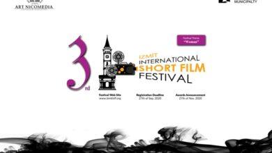 İZMİT 3. ULUSLARARASI KISA FİLM FESTİVALİ'NE ONLINE BAŞVURULAR BAŞLADI