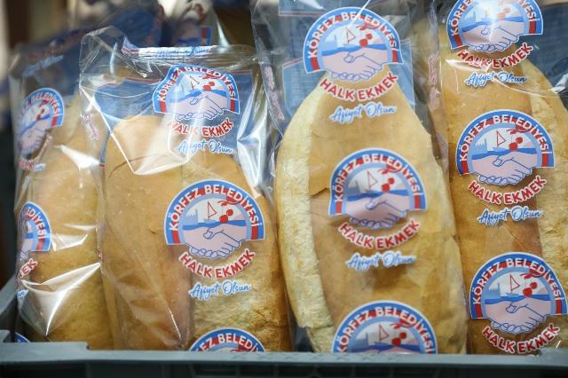 Halk Ekmek, artık poşette