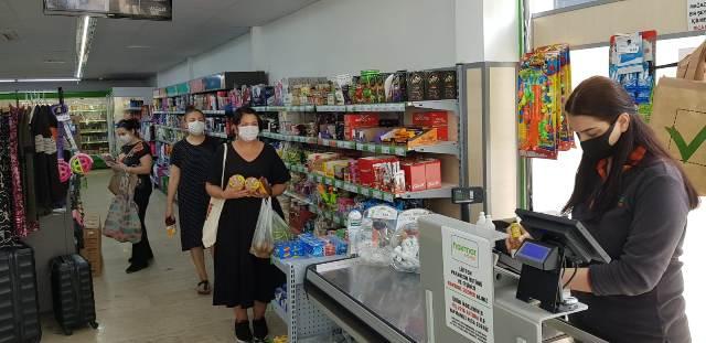 Büyükşehir'den sosyal mesafe ve maske fiyatı denetimi