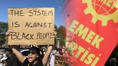 """""""Eşitsizliğe ve ırkçılığa karşı mücadele eden ABD halkının yanındayız"""""""
