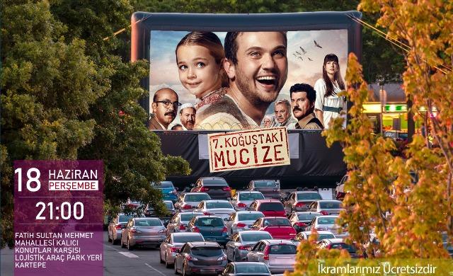 Arabada sinema keyfi bu hafta Kartepe ve Kandıra'da