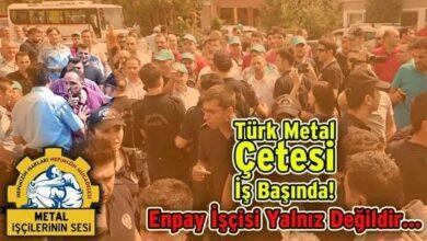 Türk Metal, MESS'e kalkan oldu
