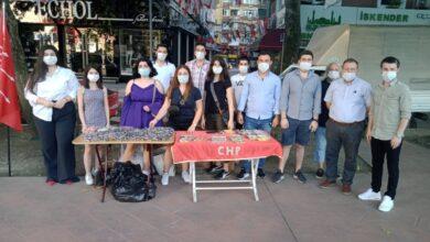 CHP'li gençlerden anlamlı etkinlik