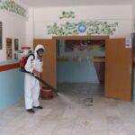 LGS sınavı için dezenfekte