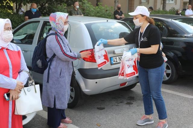 Başkan Hürriyet öğrencileri, YKS öncesi yalnız bırakmadı