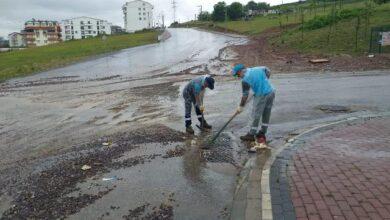 2 saatte metrekareye 62 kg yağış