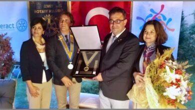 İzmit Rotary'de Mehmet Özel dönemi