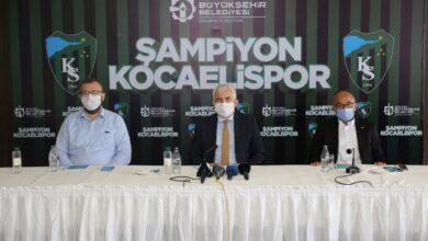 Kocaelispor'a yakışan kutlama yapılacak