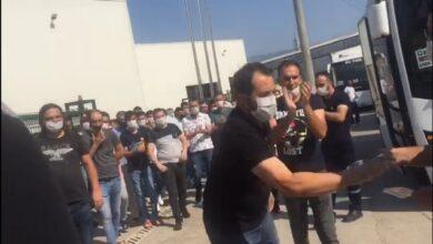 Türk Metal temsilcileri bildiri dağıtan EMEP'lilere saldırdı
