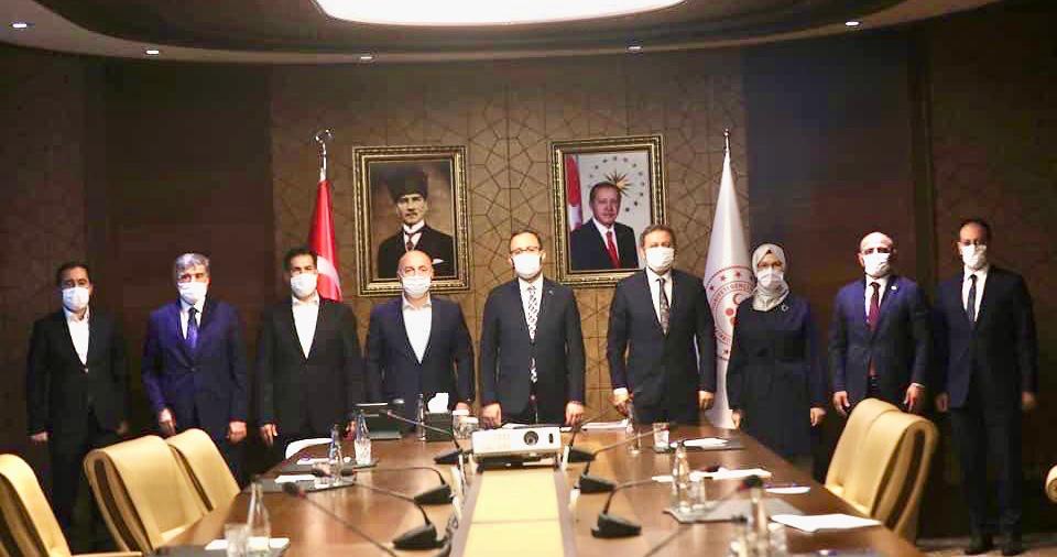 AK Partili heyet bakan Kasapoğlu ile görüştü
