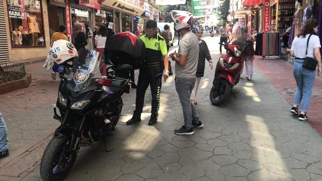 Motosiklet sürücülerine uyarı