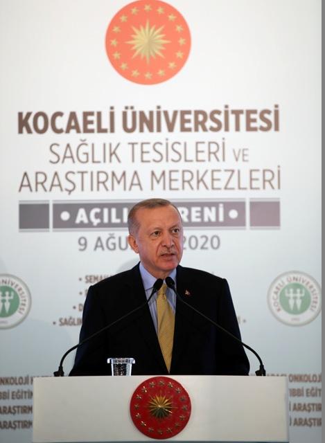 Açılışı Erdoğan yaptı