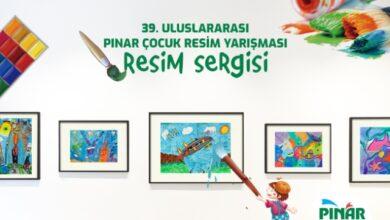 Minik ressamların eserleri sanal sergide