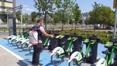 Bisikletlere düzenli dezenfekte