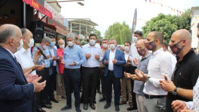 Boşnak Börekçi Cafe dualarla açıldı