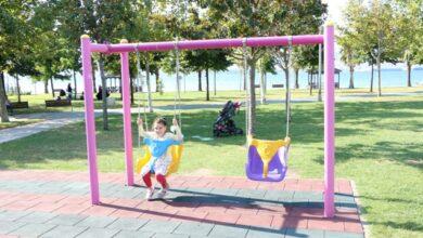 İhsaniye sahil parkına engelli oyun grubu