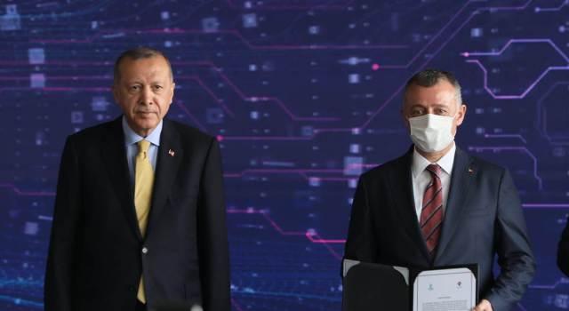 Startı Erdoğan verdi