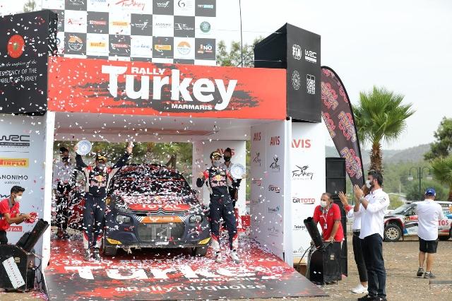 Türkiye Rallisi Başarıyla Tamamlandı