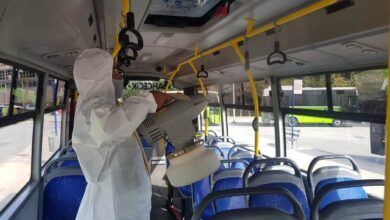 Özel halk otobüslerine periyodik dezenfekte