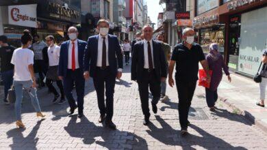 Başkanlar, Kapanönü'nde