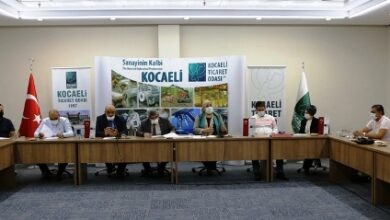 Özel okul yöneticileri Kocaeli Ticaret Odası'nda toplandı