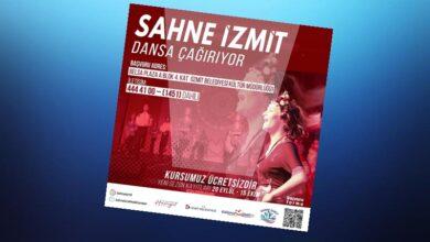 İzmit Belediyesi'nden ücretsiz dans kursu