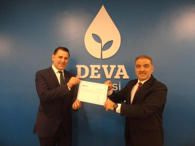 DEVA Partisi Kandıra'da başkan Murat Bebek