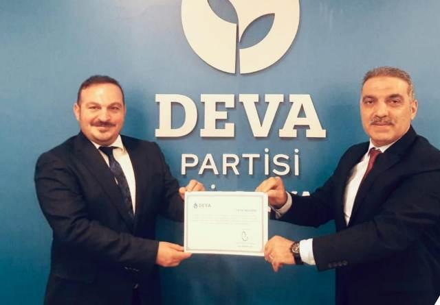 Çakıcı, DEVA Partisi İzmit İlçe Başkanı